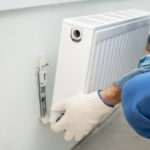 Removing radiators to dectorate