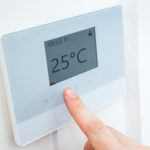 Thermostat position in the house
