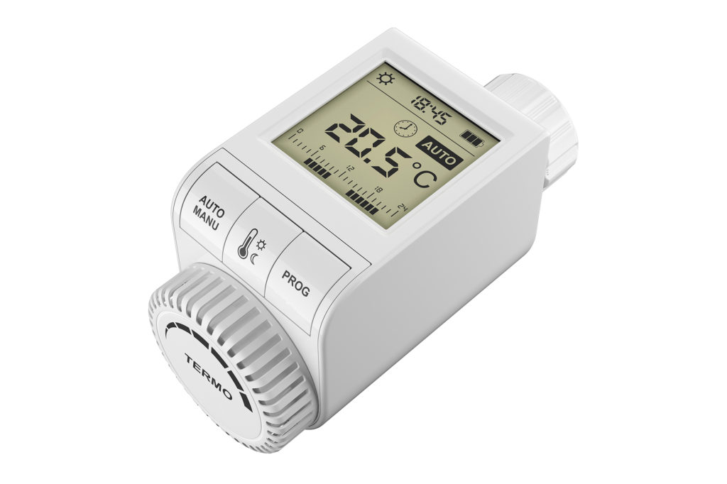 the future of thermostatic radiator valves uses wireless digital technology for complete comfort control