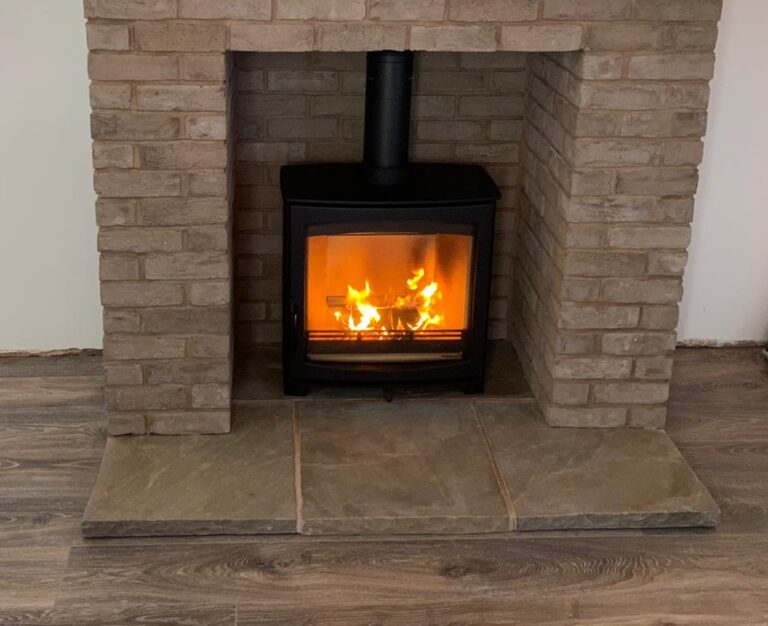 Commissioning of Aspect 8 Slimline SE Woodburning Stove