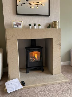 Brosley Hereford 5 stove installation