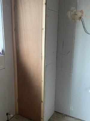 Straight swap bathroom new bathroom cupboard door