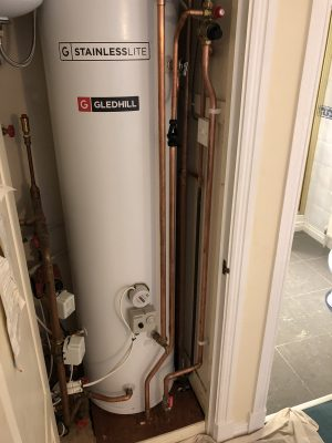 unvented hot water systems, gledhill