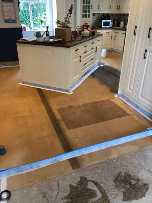 prepare floor before nu-heat underfloor heating installation