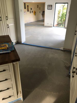 nu-heat underfloor heating screed on top of existing floor