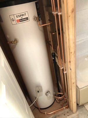slimline unvented cylinder installation