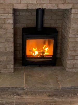 Commissioning of Aspect 8 Slimline SE Woodburning Stove