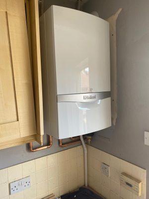 Boiler and cylinder upgrade new vaillant ecotec system boiler installed