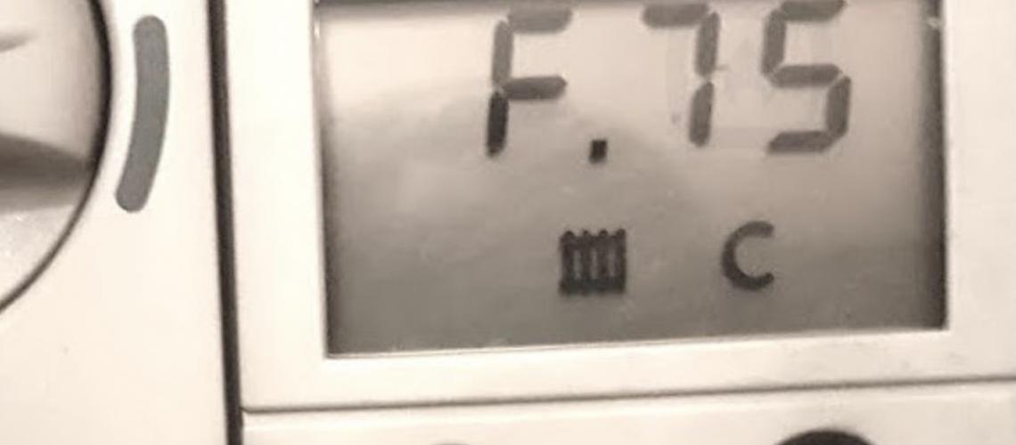 F75 fault code Vaillant ecotec